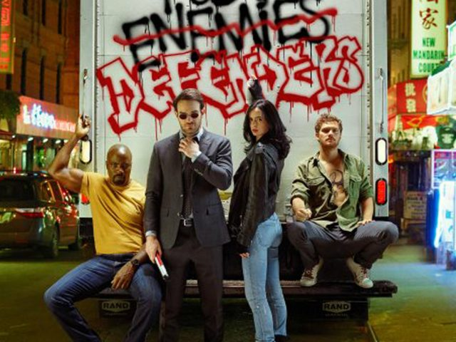 First Look at The Defenders
