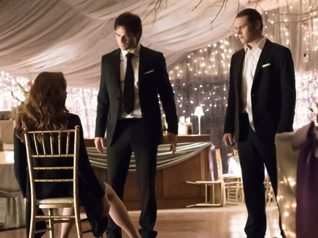 Vampire Diaries: Someone's Crashing the Steroline Wedding!