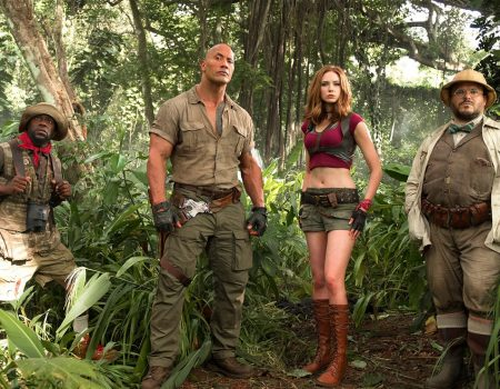 Here's The First Trailer for 'Jumanji: Welcome to the Jungle'