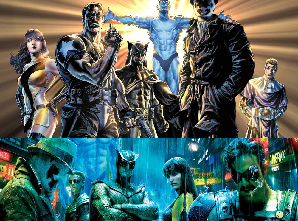 Watchmen The Graphic Novel And Movie The Nerd Daily