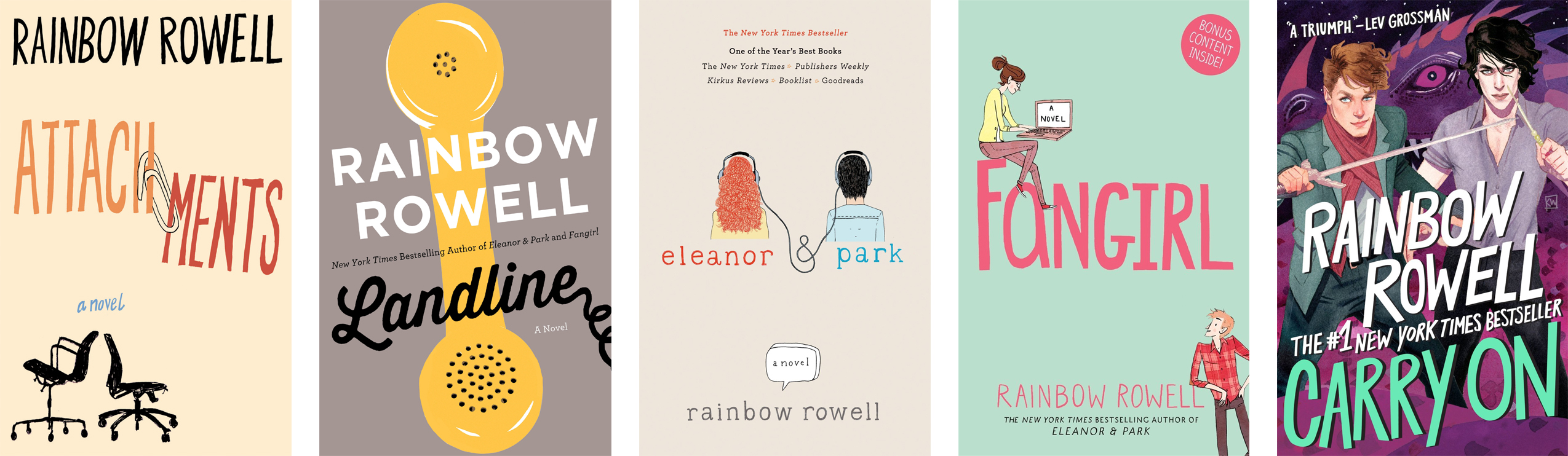 Author Spotlight: Rainbow Rowell | The Nerd Daily