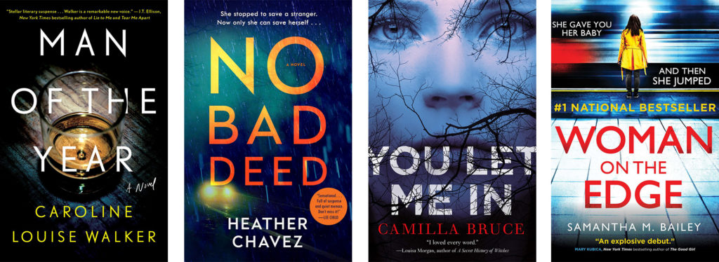 Eight Outstanding Thriller Books