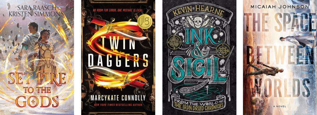 August 2020 Fantasy Sci-Fi Books